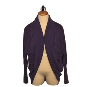 WILFRED Aritzia purple Diderot sweater